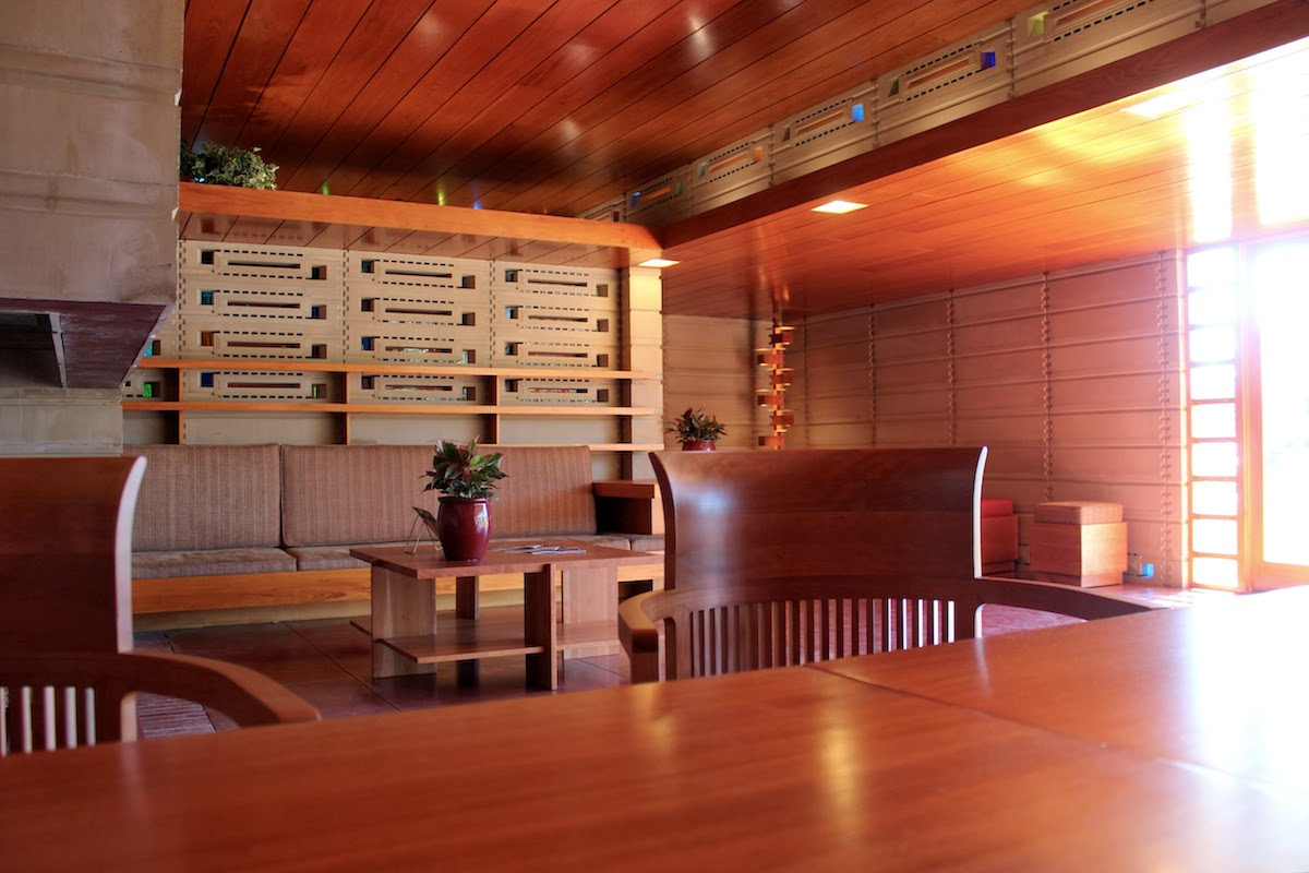 prancheta de arquiteto proj residencial usonian house lakeland florida
