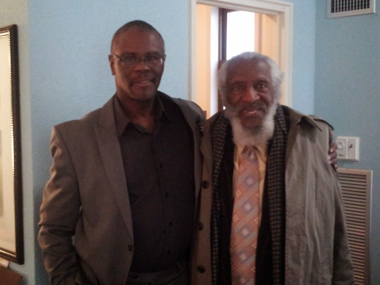 dick gregory and ron brown