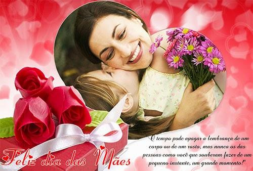 Montagem de fotos dia das mães 2014