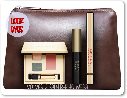Puedes contar con Clarins - set Look Eyes