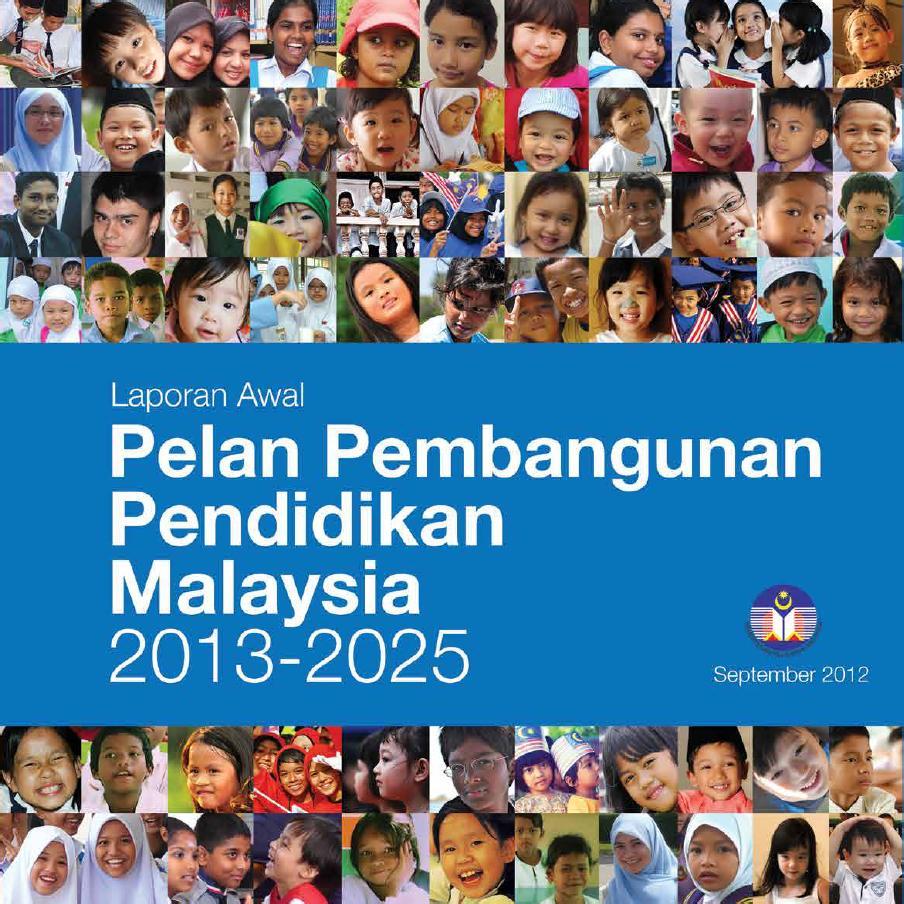 Laporan Pelan Pembangunan Pendidikan (PPP) 2013-2025 boleh dimuat ...