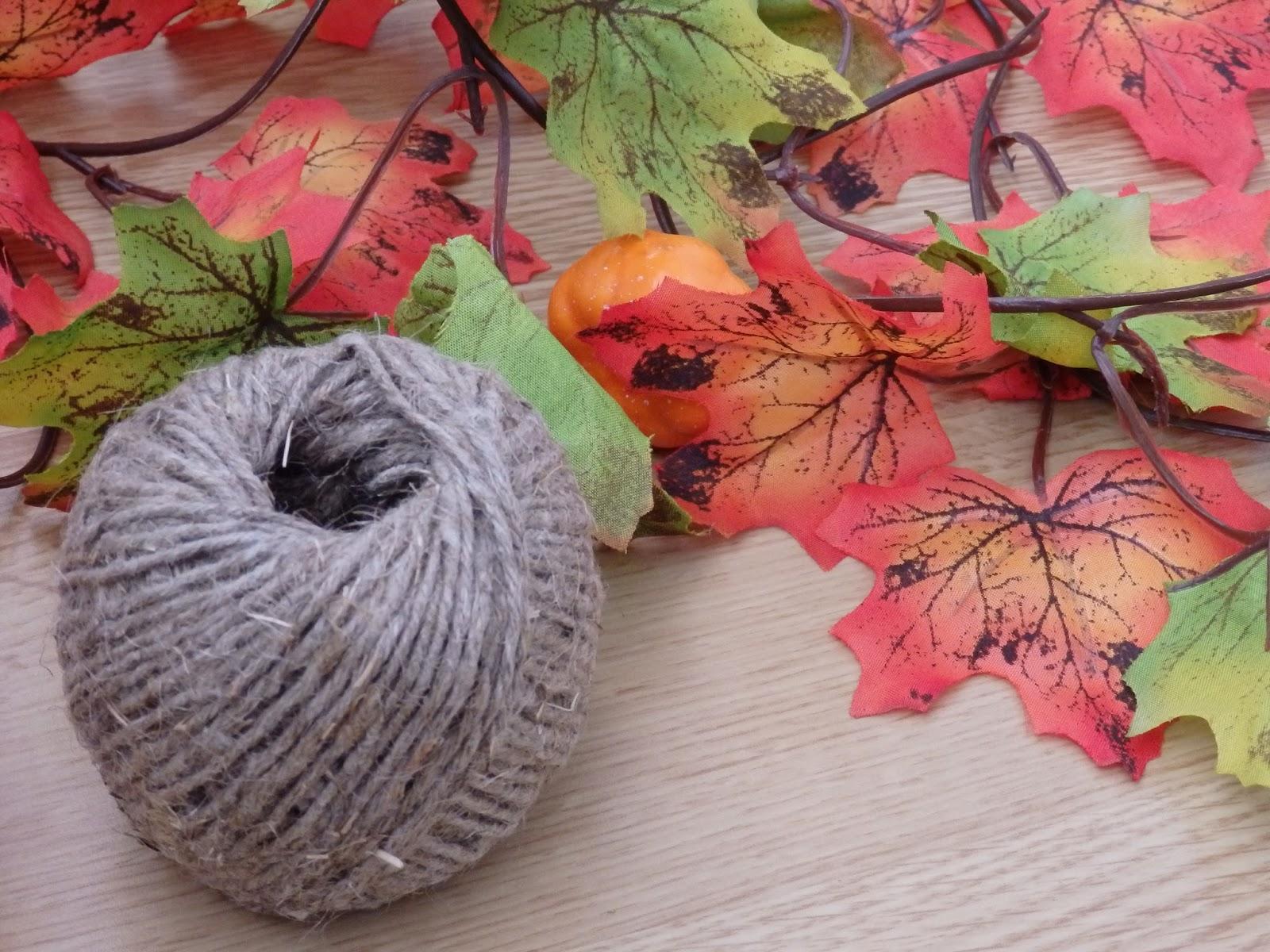 рукоделие, листья, шпагат, веревка