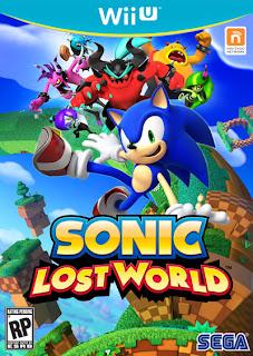 sonic lost world wii u box art Sonic Lost World (3DS/Wii U)   Box Art, Details, & Press Release