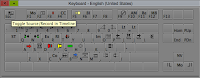 Use the keyboard to toggle Source/Record in timeline of your Avid Media Composer.