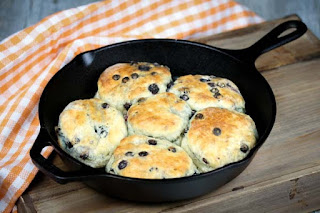 blueberry-cast-iron-biscuits