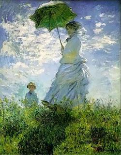 La passeggiata opera di Monet