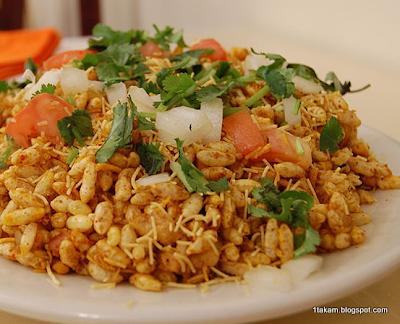 Bhel poori,Indian street food