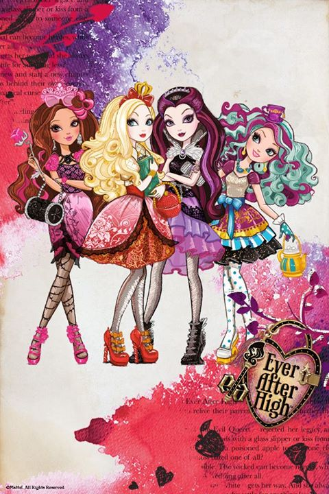 How To Draw Ever After High Characters LONG HAIRSTYLES