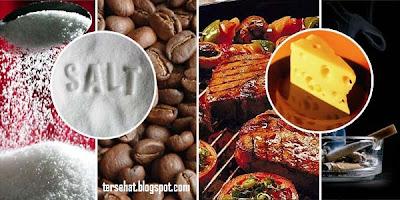 menu makanan yang merusak tubuh, minuman perusak organ dalam