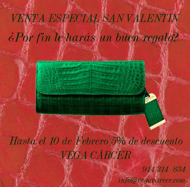 Venta Especial Vega Cárcer San VALENTIN