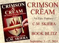 C.M.Skiera's CRIMSON & CREAM Book Blitz