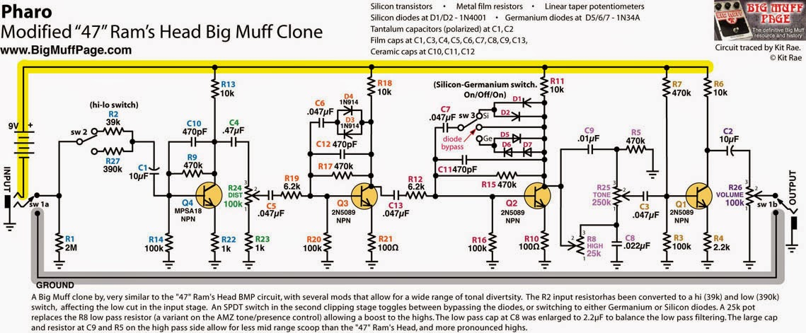 Leedsfuzzscheme likewise Fuzz Face Circuit Diagram furthermore Mkiischematic as well E A D Af E A F D further Diaz Squareface. on germanium fuzz pedal schematic