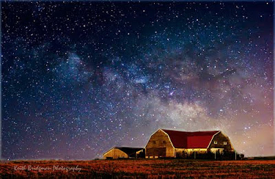 Kentucky Barn and Milky Way