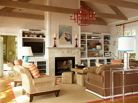 Interior Design Narrow Living Room