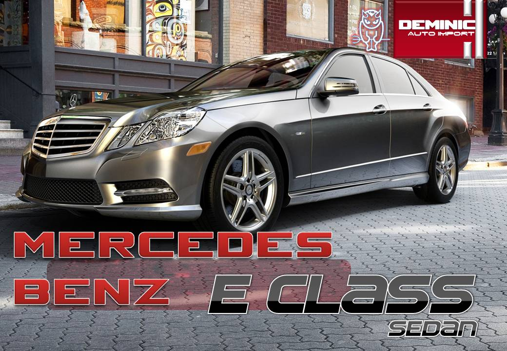 Deminic autoimport mercedes benz e class for sale for Brand new mercedes benz