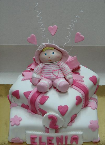 Birthday Cake Images Doll : Themed Cakes, Birthday Cakes, Wedding Cakes: Doll Themed Cakes