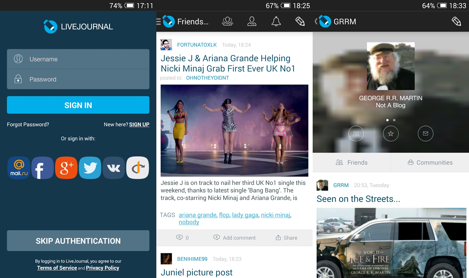 LiveJournal for Android