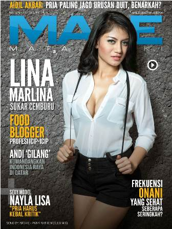 Download Gratis Majalah MALE Mata Lelaki Edisi 129 Cover Model Lina Marlina MALE Mata Lelaki 129 Indonesia | Cover MALE 129 Lina Marlina - Sukar Cemburu | www.insight-zone.com