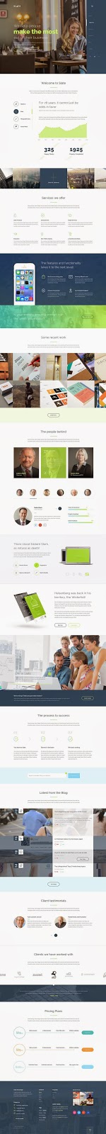 Slate A Real Multipurpose Corporate Template