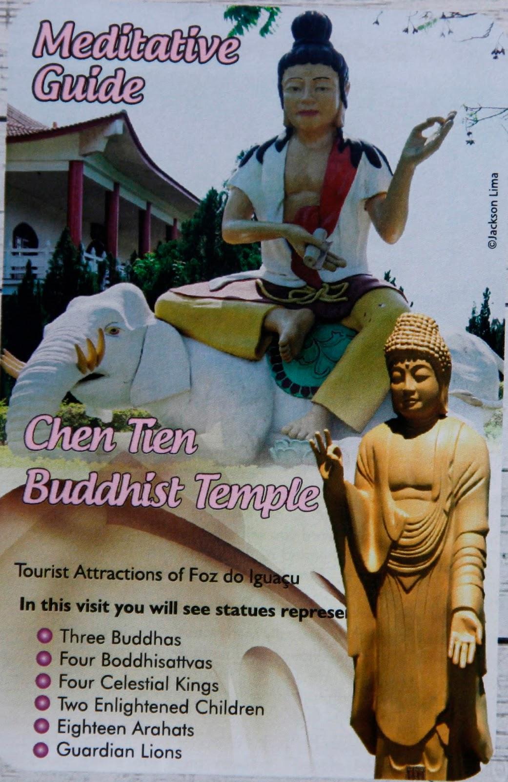 Templo Budista em inglês