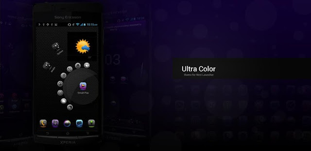 UltraColor Theme NextLauncher