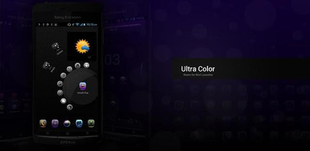 UltraColor Theme NextLauncher