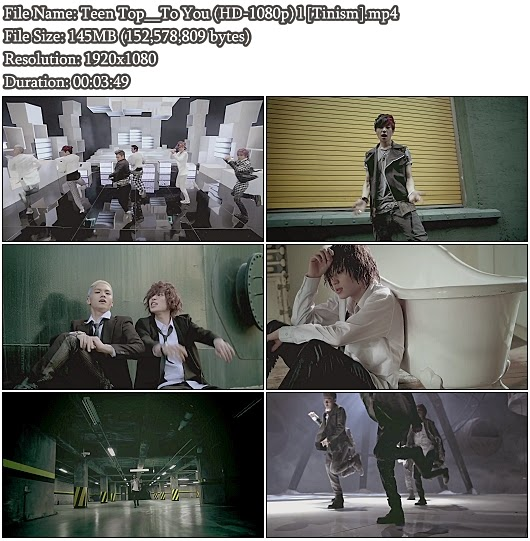 Download MV Teen Top (틴탑) - To You (Full HD 1080p)