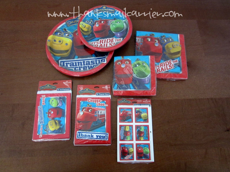 Chuggington Party Supplies – Chuggington Party Invitations