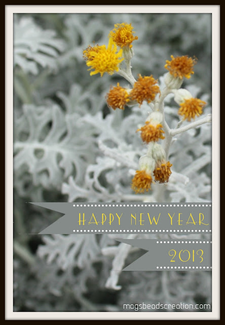 Happy New Year 2013! - magsbeadscreation.com