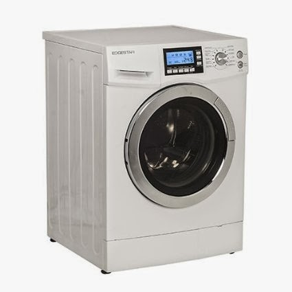 White EdgeStar 2.0 CF Ventless Combo Washer Dryers