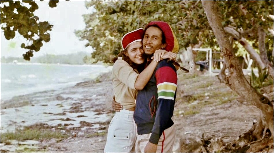 Bob Marley - Pics Bob+and+Cindy