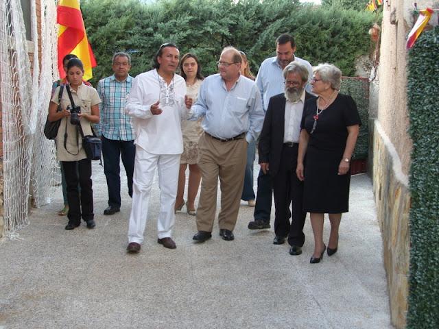 LLEGADA DEL CUERPO DIPLOMÁTICO DE LA EMBAJADA DE VENEZUELA
