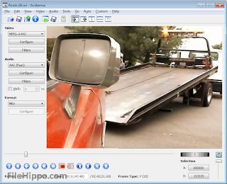 تحميل برنامج Avidemux معدل الفيديو احدث اصدار