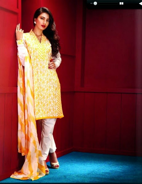 Tauseef Ahmad Eid Dress Collection 2014
