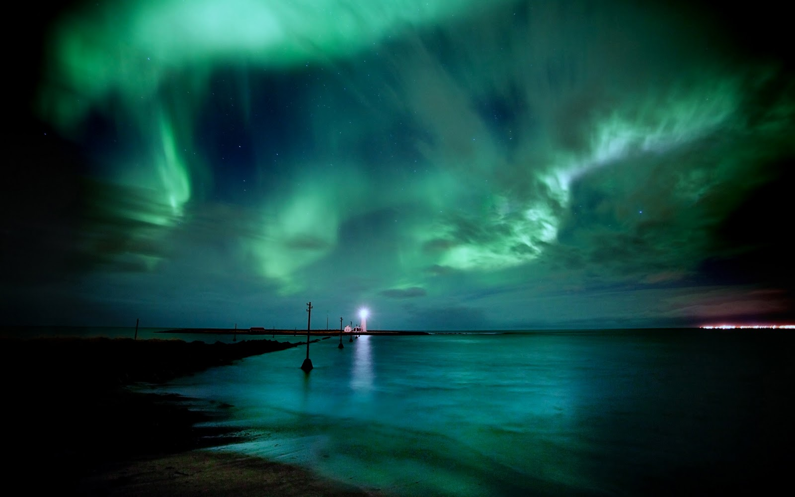 widescreen wallpapers x aurora borealis - photo #13