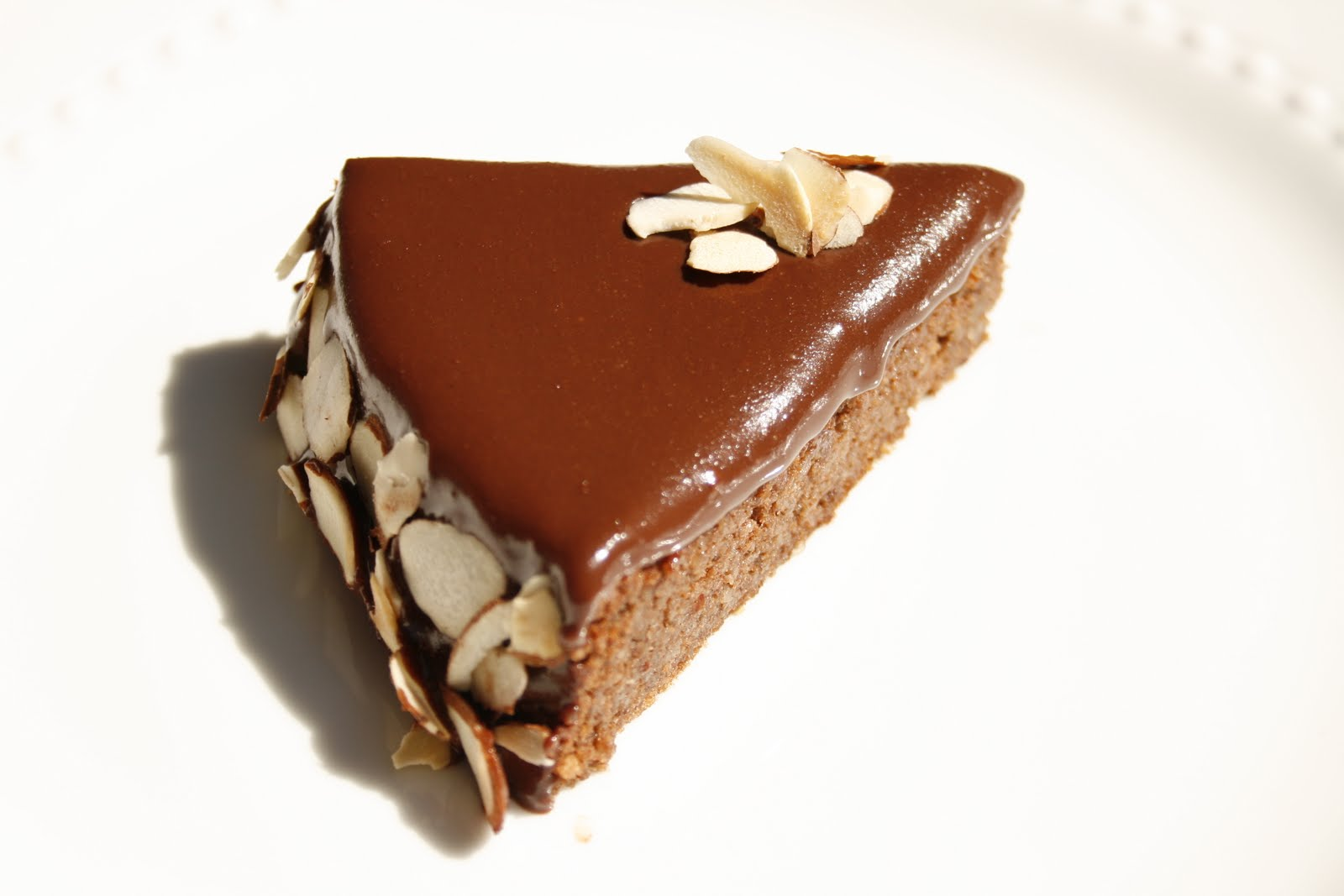 Total Heaven Chocolate Almond Cake