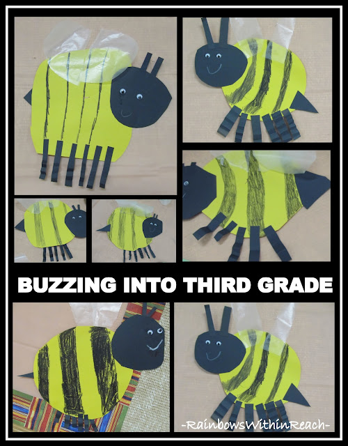 photo of: Buzzing into Third Grade: Bumblebee Theme