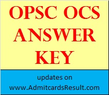 OCS General Studies Answers paper 1, 2