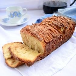 Breakfast recipe Cinnamon Pull Apart Bread on Taste of Pearl City