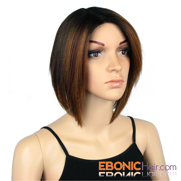 Bob Invisible Part Lace Front Wigs