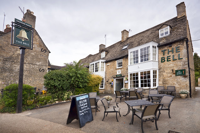 The Bell Inn at the Cotswold town of Charlbury Martyn Ferry Photography