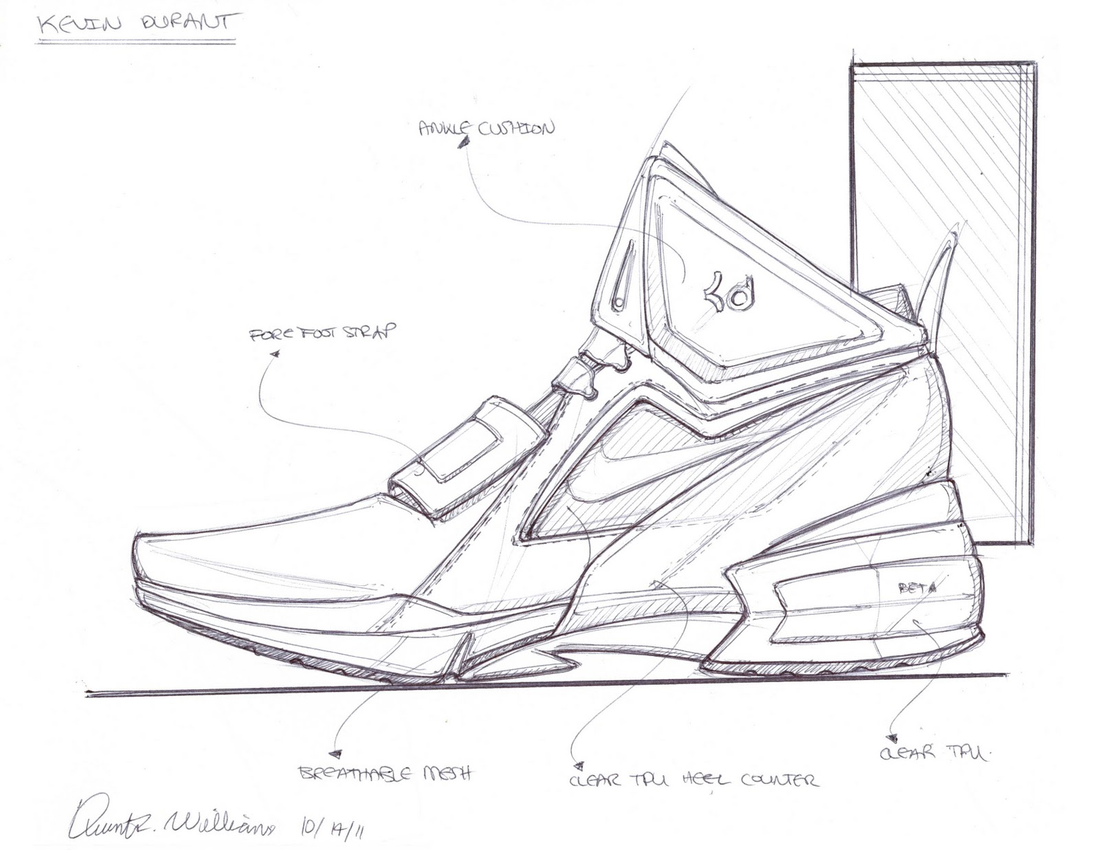 kd nike shoes coloring pages - photo#30