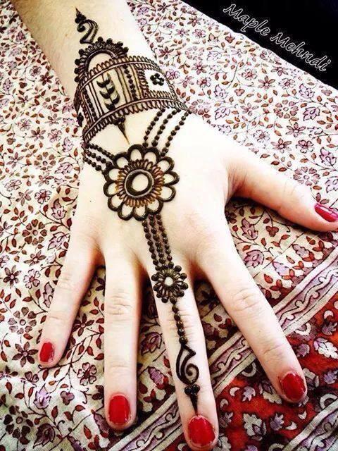 Henna Simple Unik Makedes Com