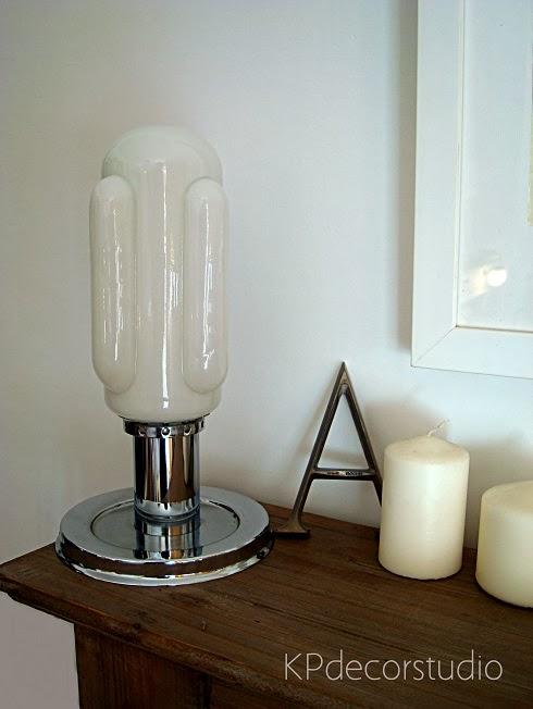 Lámparas vintage online. Luz auxiliar para el recibidor