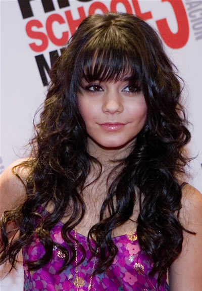 hairstyles for long hair with fringe. hot 2010 long hair styles for
