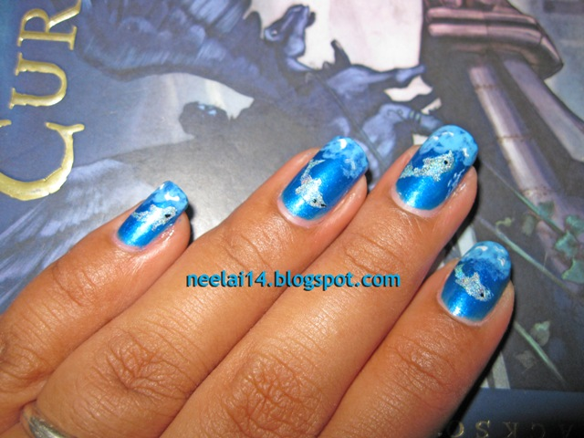 nail stash swimming dolphins swimming dolphin nail art prinsesfo Image collections