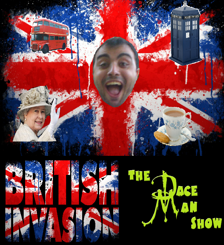 British Invasion podcast title card
