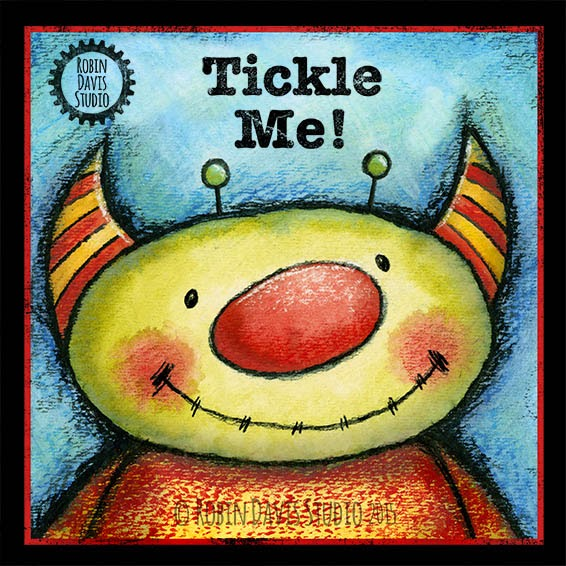 Tickle Me Monster - Robin Davis Studio