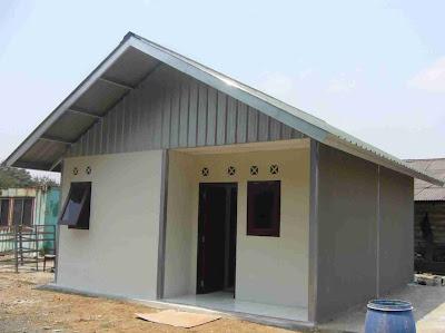 contoh gambar rumah minimalis type 36 desain denah rumah