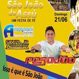 JOÃO NETTO PEGADÃO NO SJA 2015
